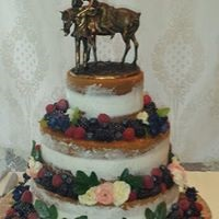 Wedding cake by Once Upon a Cake
